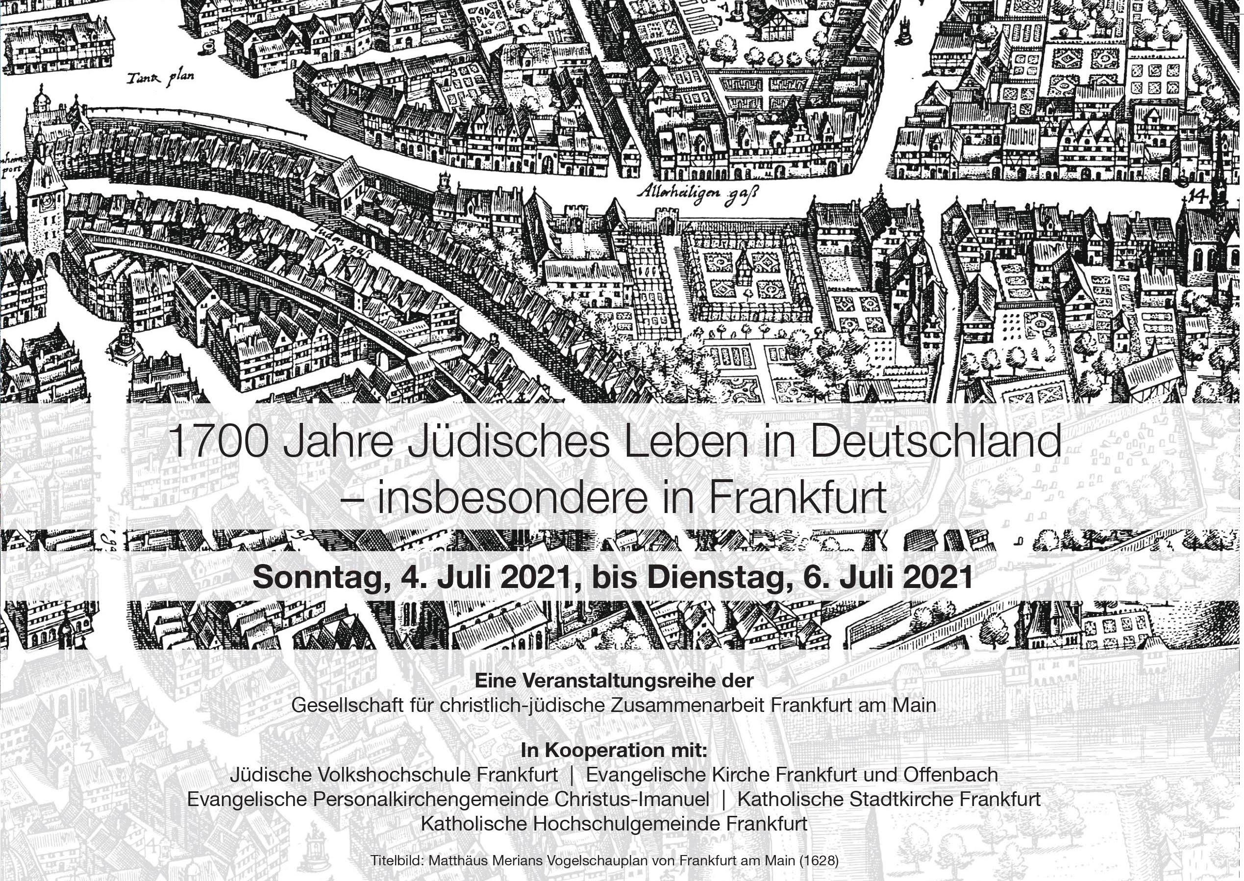 1700 Jahre jüdisches Leben in Frankfurt